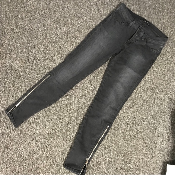 222ebcc6c34eee J Brand Jeans | Alley Cat Skinny W Side Zipperblack Wash | Poshmark